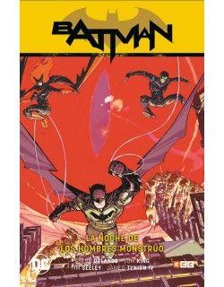 BATMAN (REBIRTH) VOLUMEN 2: LA NOCHE DE LOS HOMBRES MONSTRUO