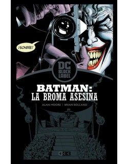 BATMAN: LA BROMA ASESINA (EDICION BLACK LABEL)