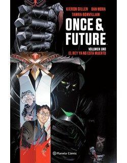 Once And Future 01 El Rey No Está Muerto Cómic