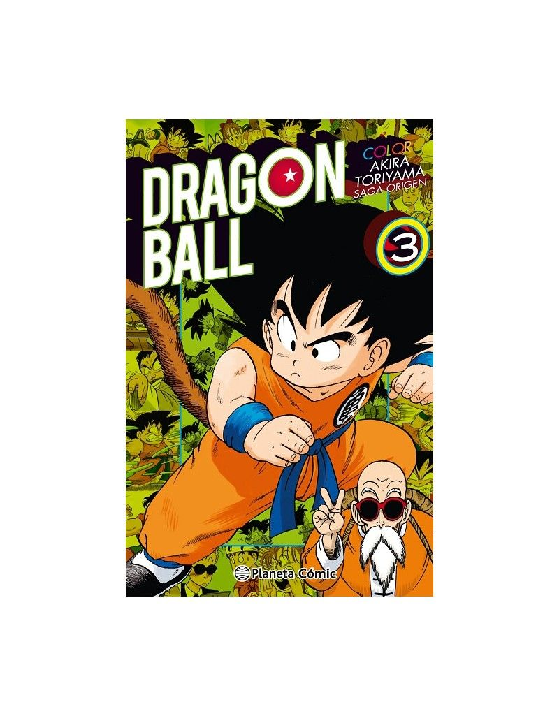 DRAGON BALL COLOR: ORIGEN Y RED RIBBON Nº03