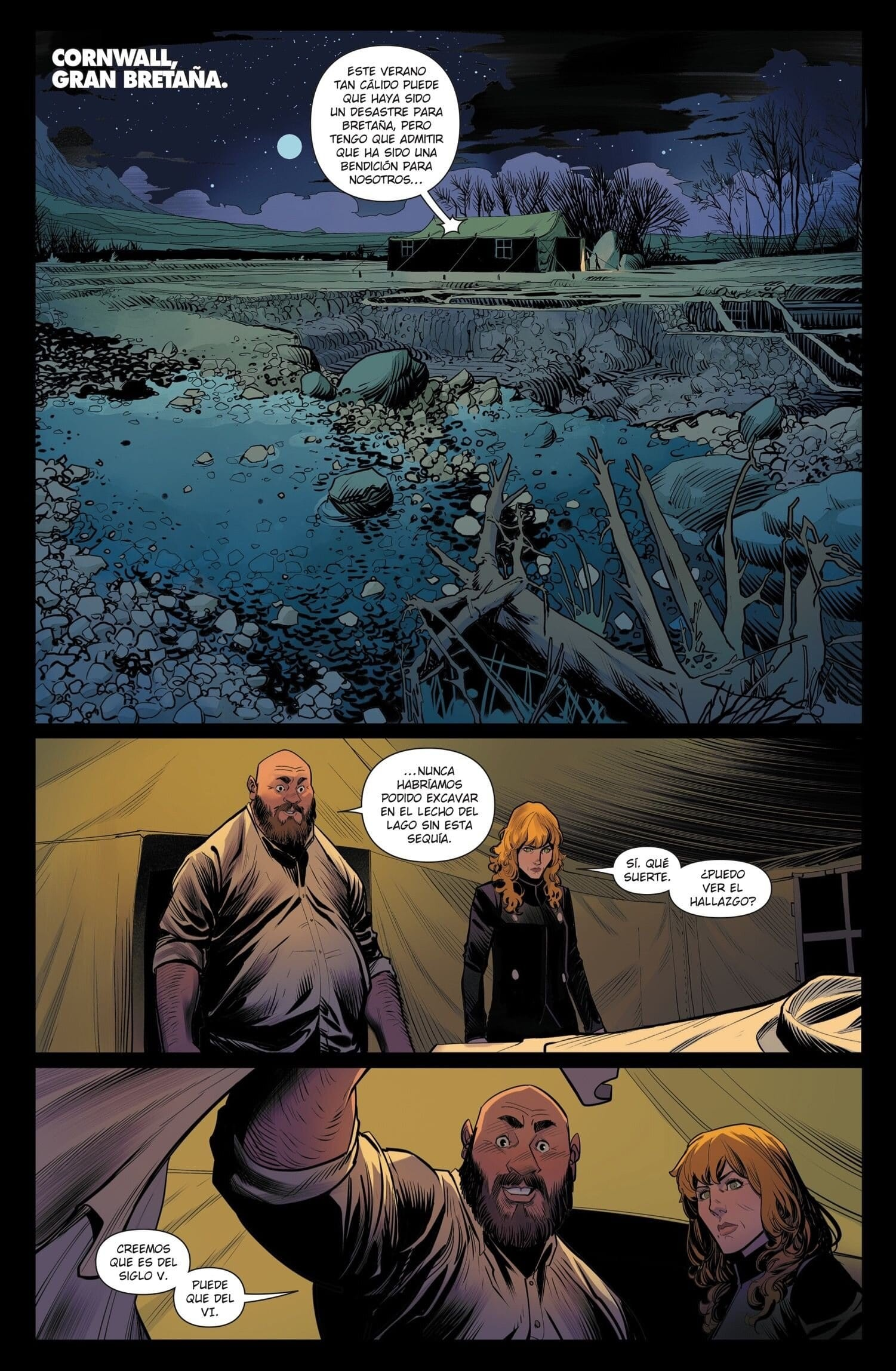 ONCE & FUTURE Volumen 01. El rey ya no está muerto