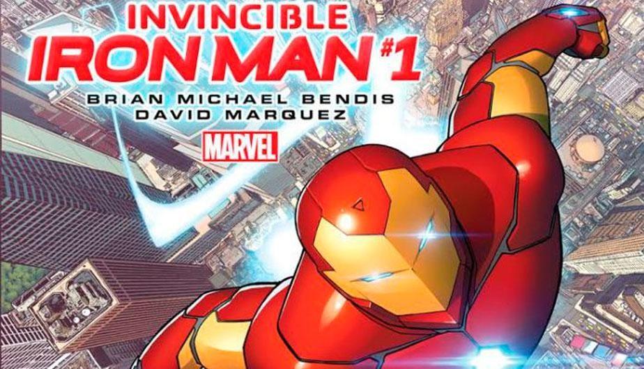 Comic Invencible Iron man